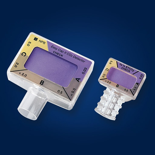 Nellcor™ Adult/Pediatric Colorimetric CO2 Detector - helps clinicians verify proper Endotracheal Tube placement