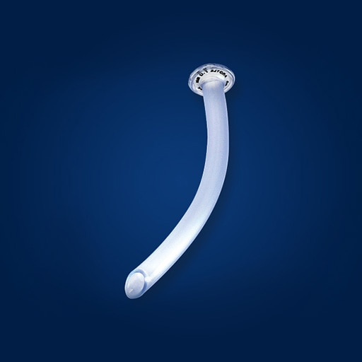 Shiley™ Nasopharyngeal Airway - patient comfort during suctioning and bronchoscopy