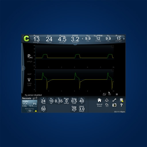 Puritan Bennett™ NeoMode 2.0 Software - addresses critical issues in the care and safety of neonates