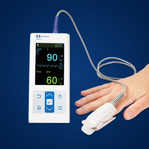 Nellcor™ Portable SpO₂ Patient Monitoring System, PM10N