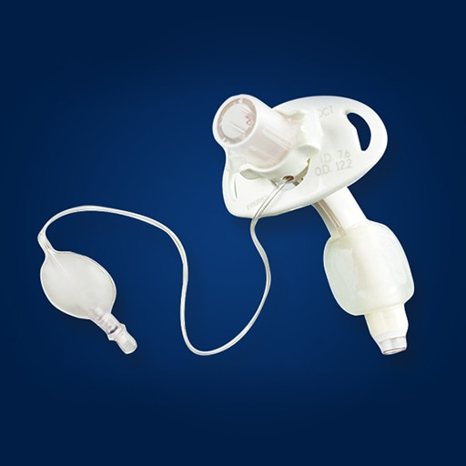 Shiley™ Tracheostomy Tubes with Disposable Inner Cannula - providing quick and convenient restoration of a patient airway