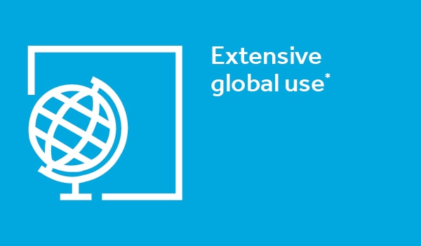 Extensive Global Use