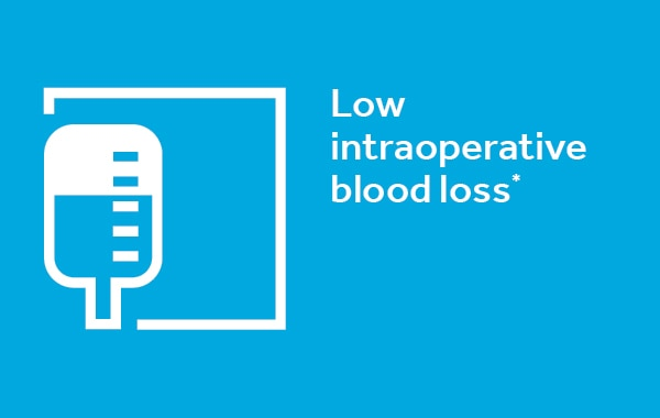 Low Intraoperative Blood Loss