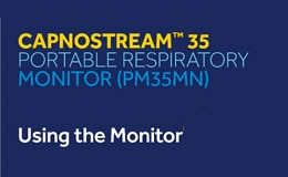 Capnostream™ 35 Portable Monitor Product Support   Medtronic