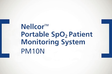 Nellcor™ Portable SpO₂ Monitor, PM10N: Alarm Management