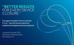 How to Use the V-Loc™ Device in Implant and Replacement Procedures