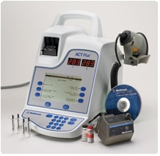 ACT Plus Automated Coagulation Timer System Image