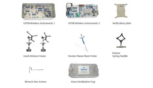 Universal surgical navigation instruments for wireless joint replacement