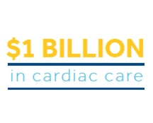 $1 billion in cardiac care