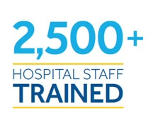 2,500+ Hospital Staff Trained