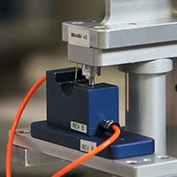 A machine used to manufacture high-quality batteries for Medtronic devices.