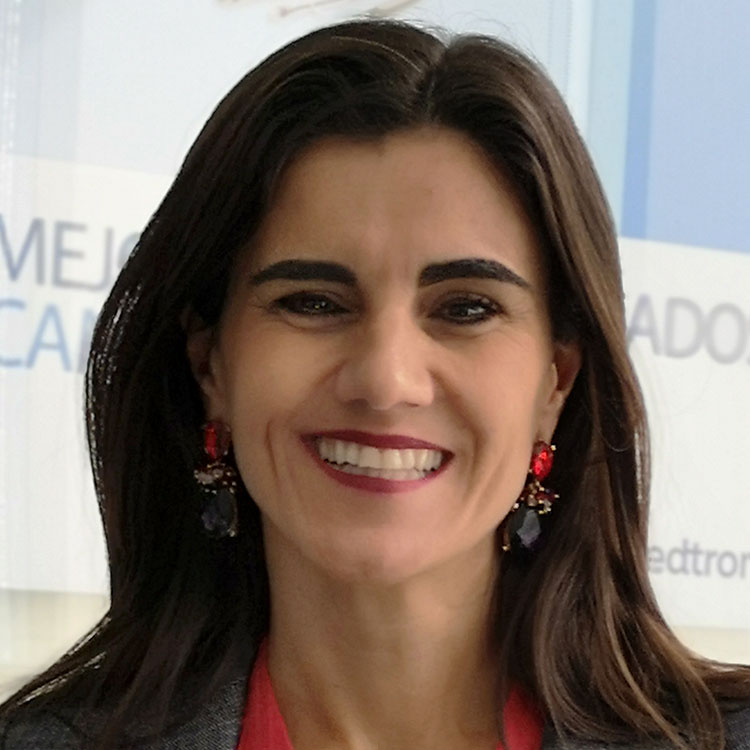 Headshot of Mariana Cestau, Medtronic senior business unit manager for Cardiac Rhythm and Heart Failure in Chile