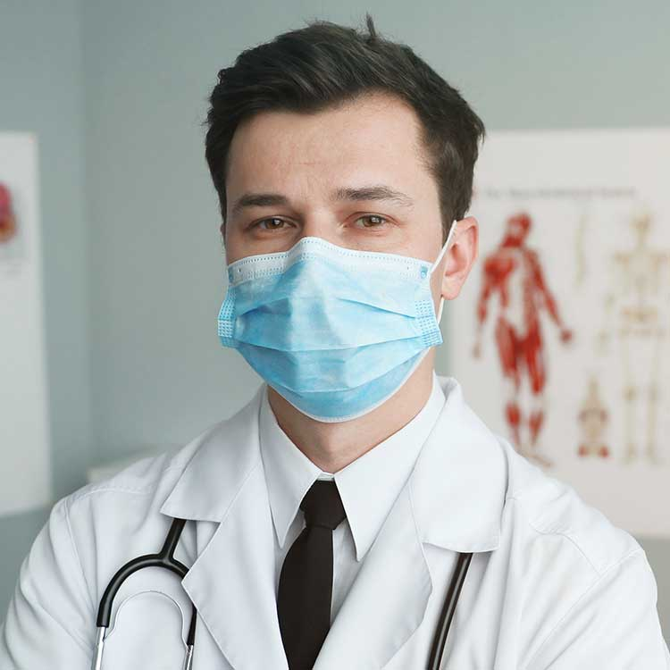 Male Doctor With a Mask