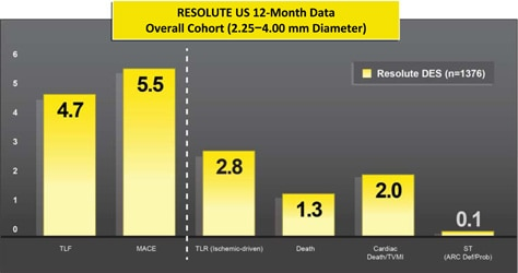 Resolute Integrity - Chart - US 12 Month Data