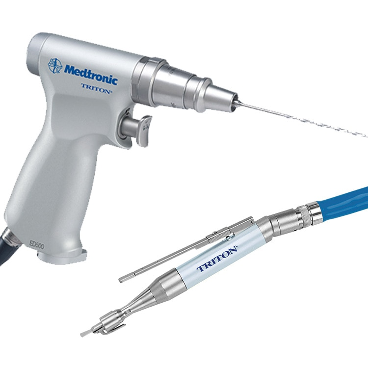Triton Handpieces for cranial, spinal and orthopaedic surgury