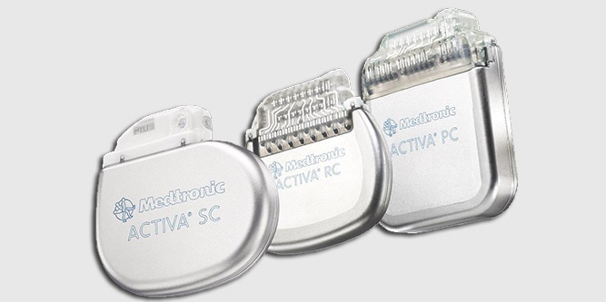 Activa Neurostimulators for Deep Brain Stimulation