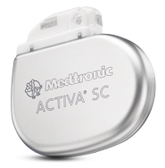 Activa SC Neurostimulator for deep brain stimulation