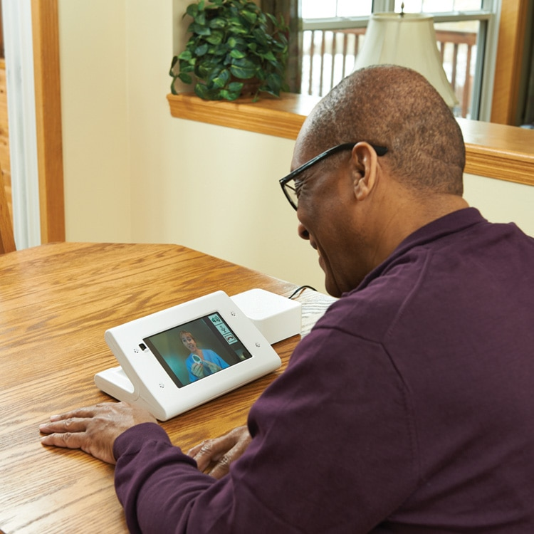 Care Management Services patient using remote patient monitoring