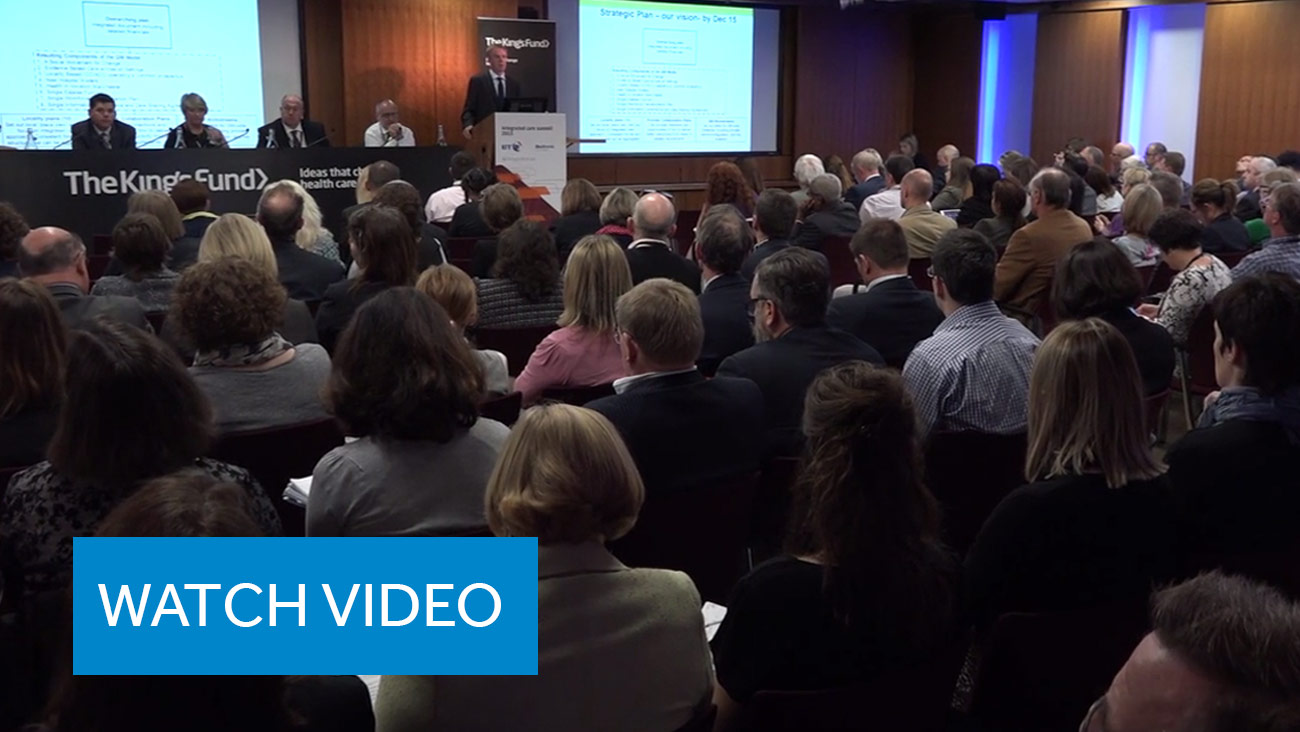 Medtronic and The King's Fund Roundtable Video