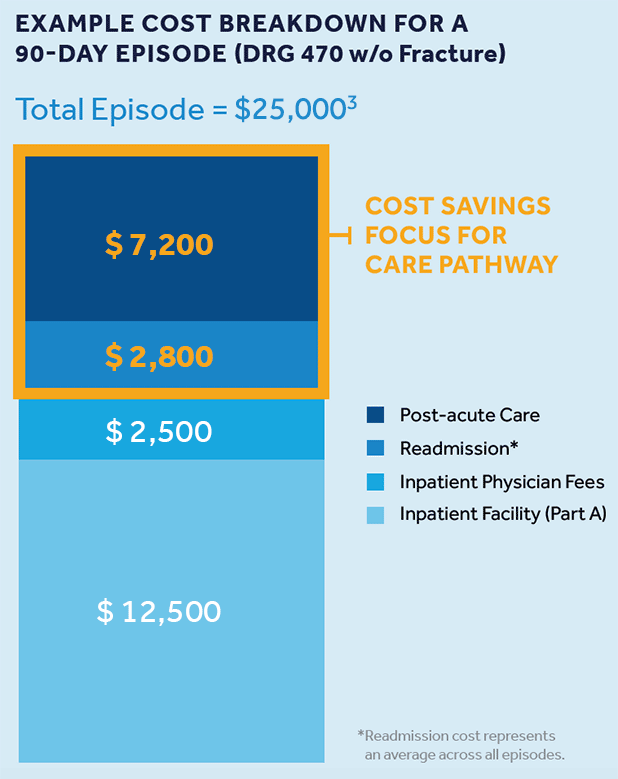 EXAMPLE COST BREAKDOWN FOR A 90-DAY EPISODE