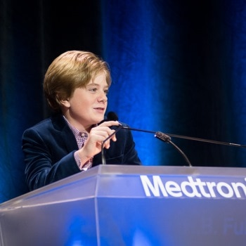 Max Page speaks to Medtronic