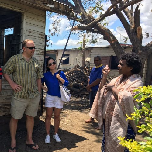 Medtronic employees in Fiji