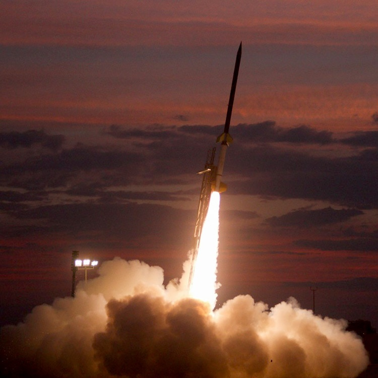 NASA rocket launch June 22, 2017 Courtesy: NASA