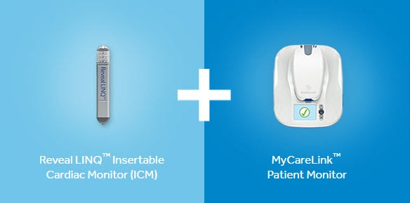 Reveal LINQ and MyCareLink Patient Monitor
